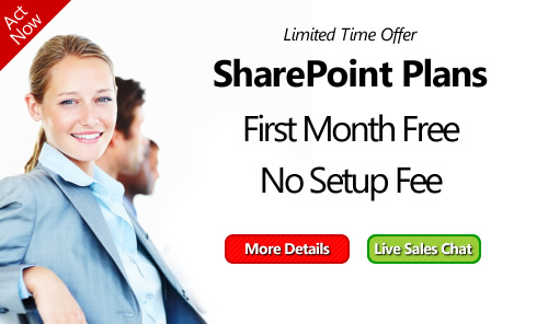 sharepoint no setup fee promotion